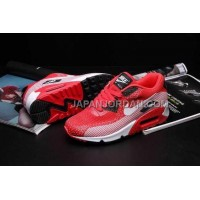 Nike Air Max 90 EM Mens Red White Black オンライン