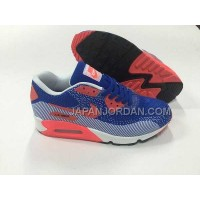 Nike Air Max 90 EM Womens Dark Blue Red 新着