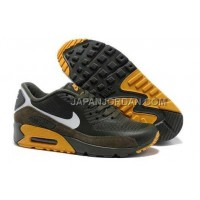 Nike Air Max 90 Hyperfuse PRM Mens 2014 Coffee Yellow 新着