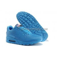 Nike Air Max 90 Hyperfuse PRM Mens Blue 新着