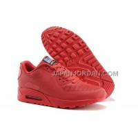 Nike Air Max 90 Hyperfuse PRM Mens Red オンライン