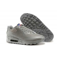 Nike Air Max 90 Hyperfuse Prm QS Womens Silver 新着