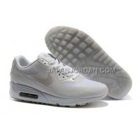 Nike Air Max 90 Hyperfuse Prm Womens Grey White 新着