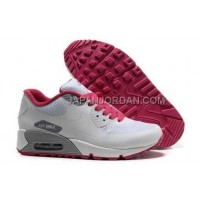 Nike Air Max 90 Hyperfuse Prm Womens White Grey Red 新着