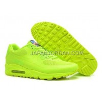 Nike Air Max 90 Hyperfuse QS Mens All Lemon Green 新着