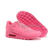 Nike Air Max 90 Hyperfuse QS Womens All Pink 新着