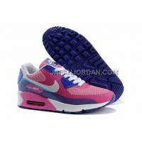 Nike Air Max 90 Hyperfuse Womens 2014 Pink Blue 新着