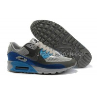 送料無料 Nike Air Max 90 Hyperfuse Womens Blue Grey