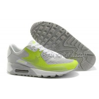 送料無料 Nike Air Max 90 Hyperfuse Womens Grassgreen Grey