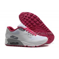 Nike Air Max 90 Hyperfuse Womens White Red Low 送料無料