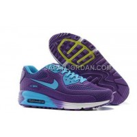 Nike Air Max 90 KPU TPU Mens Purple Blue 本物の