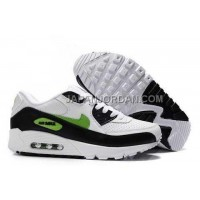 新着 Nike Air Max 90 Men Black White Green