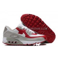 新着 Nike Air Max 90 Men Grey White Red
