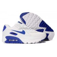 Nike Air Max 90 Men White Blue オンライン