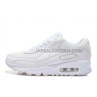 Nike Air Max 90 Mens All White 本物の
