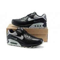 新着 Nike Air Max 90 Mens Black Grey