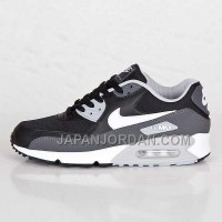 Nike Air Max 90 Mens Black Light Grey White 本物の