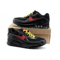 Nike Air Max 90 Mens Black Red Yellow オンライン