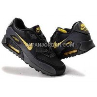 新着 Nike Air Max 90 Mens Black Yellow