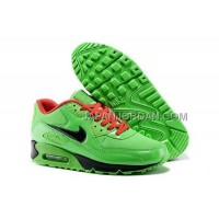 Nike Air Max 90 Mens Green 本物の