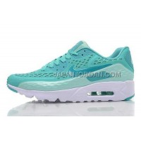 オンライン Nike Air Max 90 Mens Green Blue White