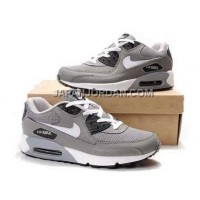 Nike Air Max 90 Mens White Black Gray- オンライン