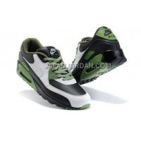 新着 Nike Air Max 90 Mens White Black OliveDrab