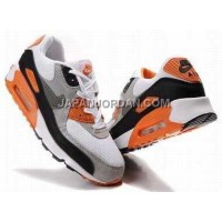 新着 Nike Air Max 90 Mens White Black Orange