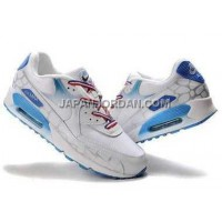 Nike Air Max 90 Mens White Light Blue オンライン