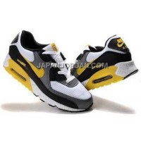 Nike Air Max 90 Mens Yellow Black White Gray オンライン