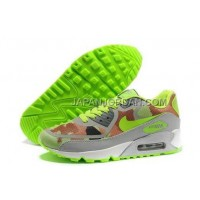 Nike Air Max 90 PREM TAPE Womens New Grey Brown Green 新着
