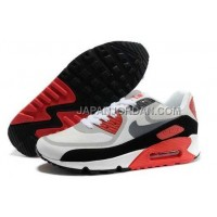 Nike Air Max 90 PREM TAPE Womens New Grey Red 新着