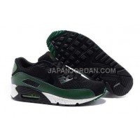 オンライン Nike Air Max 90 Premium EM Mens Black Green