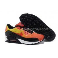 オンライン Nike Air Max 90 Premium EM Mens Orange Black