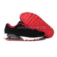 オンライン Nike Air Max 90 VT Mens Black Red