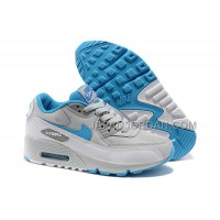 Nike Air Max 90 Womens Babyblue White Grey 送料無料