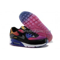 格安特別 Nike Air Max 90 Womens Black Purple Blue