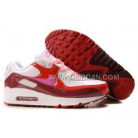 Nike Air Max 90 Womens Deep Red Pink White Red 送料無料