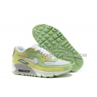 Nike Air Max 90 Womens Grassgreen Yellow White 送料無料
