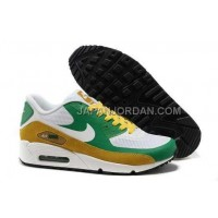 Nike Air Max 90 Womens Hyperfuse 2014 White Green 新着