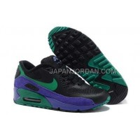 Nike Air Max 90 Womens Hyperfuse Black Green Purple 新着