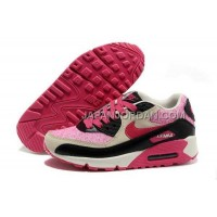 送料無料 Nike Air Max 90 Womens Pink Black