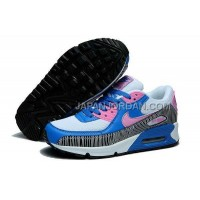 送料無料 Nike Air Max 90 Womens White Blue Pink