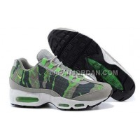 オンライン Nike Air Max 95 Mens Gray Green