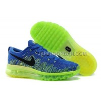 オンライン Nike Air Max Flyknit Mens Blue