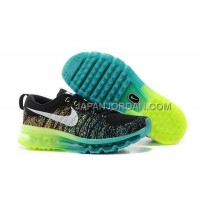 Nike Air Max Flyknit Womens Green Black 送料無料