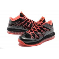 Nike Air Max Lebron X Low Mens Black Red オンライン