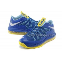 Nike Air Max Lebron X Low Mens Blue オンライン