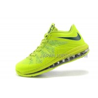 Nike Air Max Lebron X Low Mens Fluorescence Green オンライン
