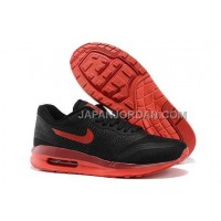 Nike Air Max Lunar 1 Mens Black Red オンライン